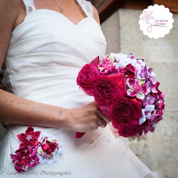 La Mariee En Fleurs Origami Bouquet Beaute Salon De L Alliance