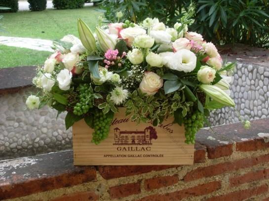 decoration-fleurs-vignoble-chic-mariage-toulouse