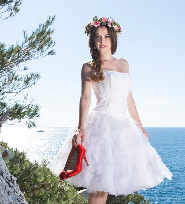 Robe Mariee Couronne Fleurs Nature Salon De L Alliance Mariage Et